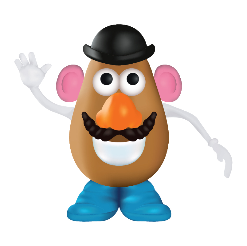 Free Mr Potato Head Clip Art