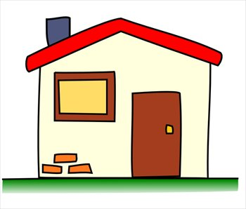 Free my-house-01 Clipart - Free Clipart Graphics, Images and