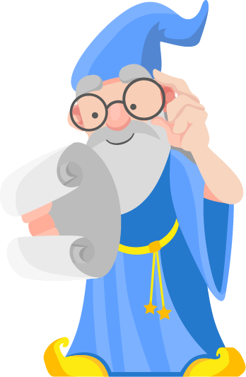 Free Old Wise Wizard Clip Art