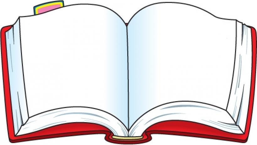 free open book vector clip art .
