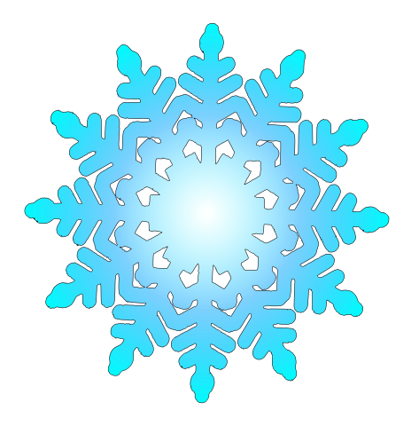 Free pink snowflake clipart - ClipartFest