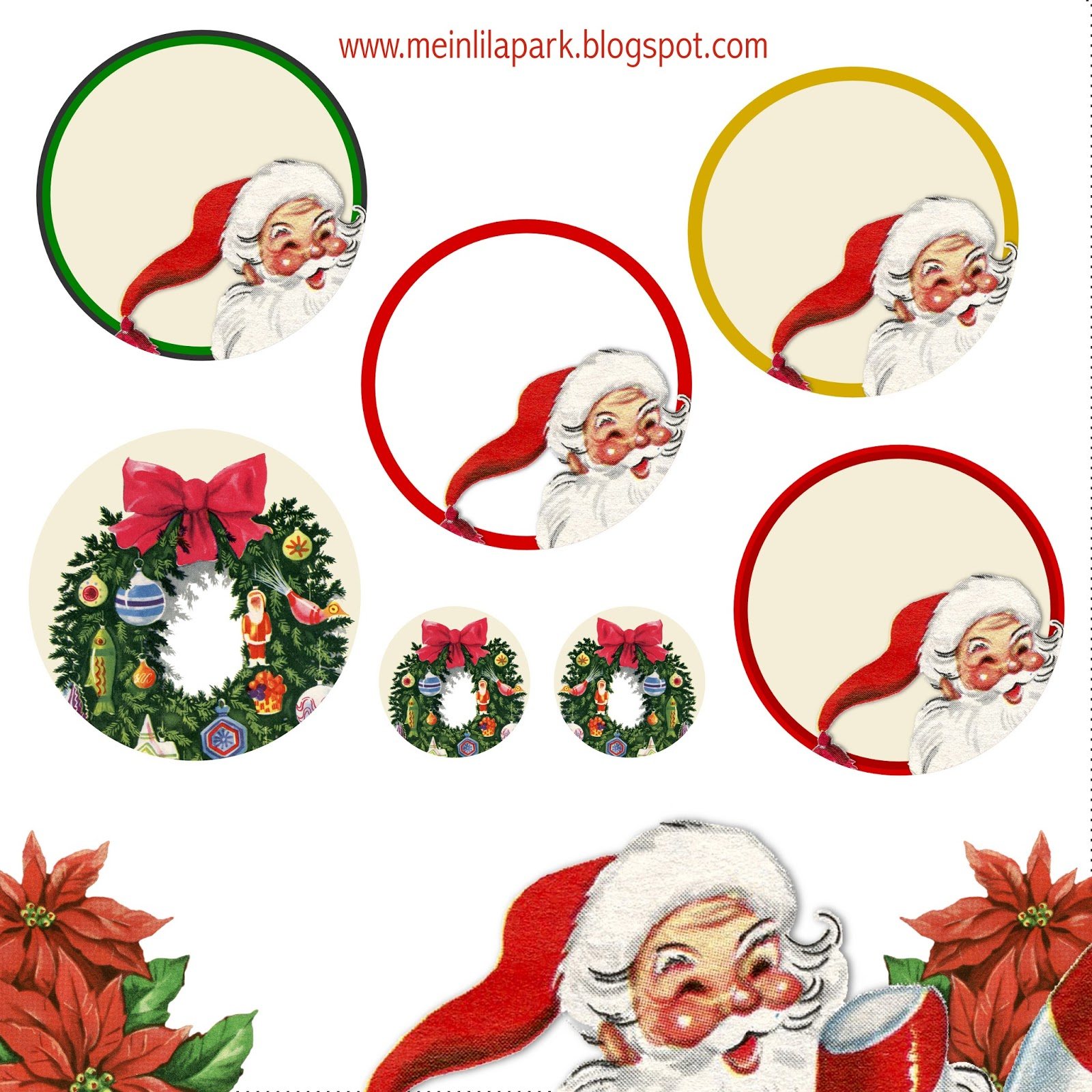 Free Printable Christmas Clip Art Ausdruckbare Weichnachts Clipart