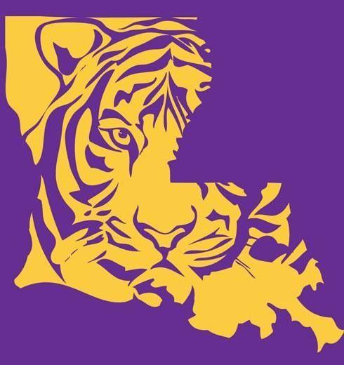 Free Printable Lsu Logo Clipart - Free Clip Art Images   LSU and Saints logos   Pinterest   Louisiana, Logos and Caves