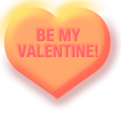 Free Printable Valentine Conversation Heart Clipart And Cherub