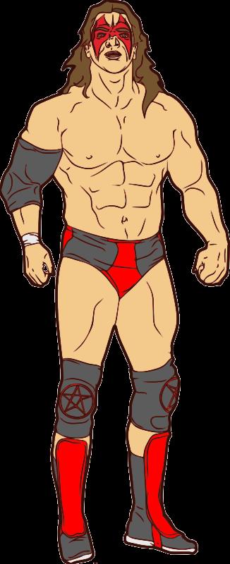 Free Professional Wrestler Clip Art