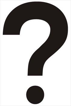 Free Question Mark Clip Art. questioning clipart