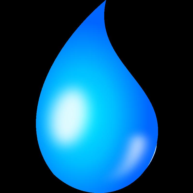 Free Raindrop Clip Art