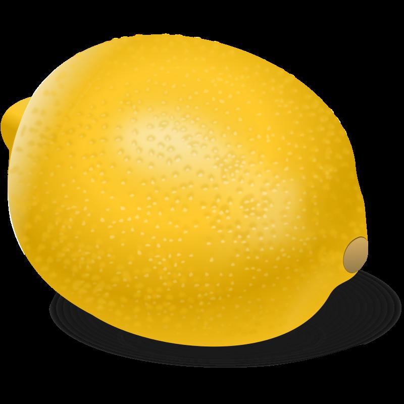 Free Realistic Lemon Clip Art