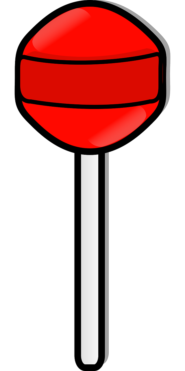 Free Red Lollipop Clip Art