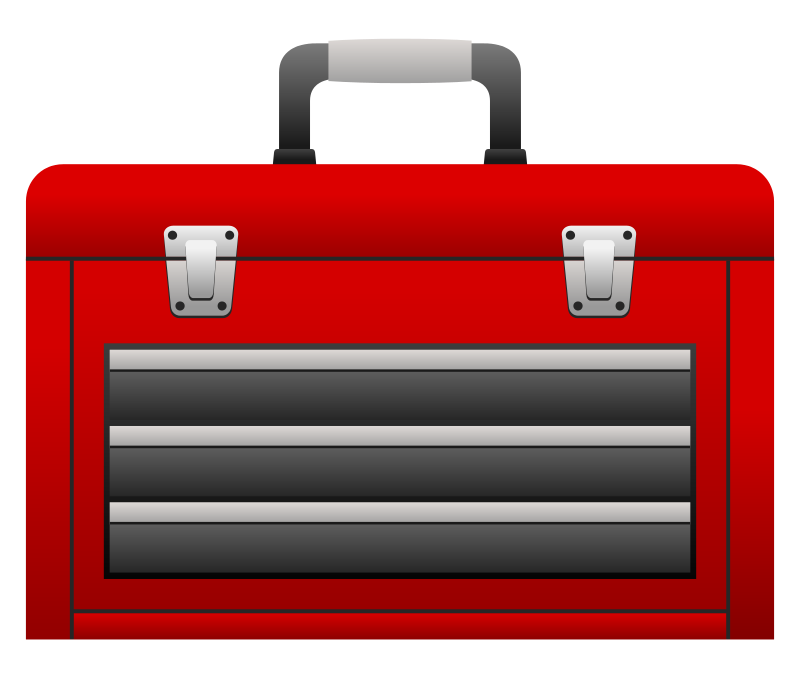 Free Red Toolbox Clip Art · toolbox3