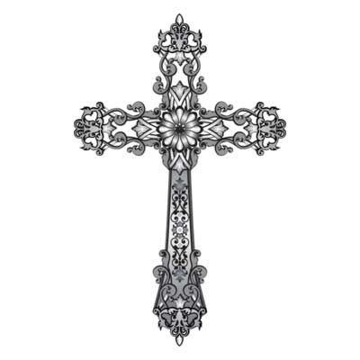 Free Religious Cross Clip Art   Free Clipart Downloads - Clip Art 054