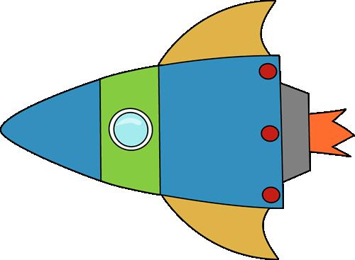 Free Rocket Clipart