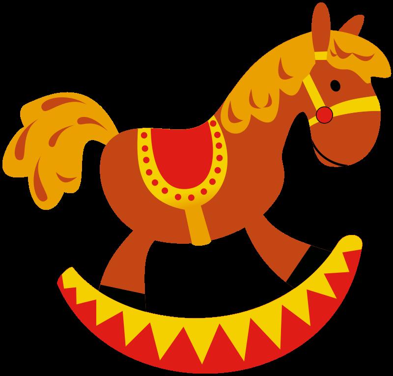 Free Rocking Horse Clip Art