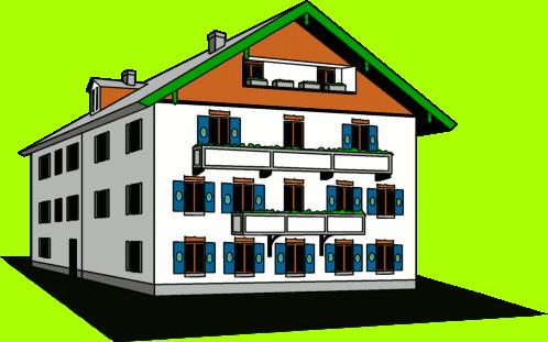 Free Rustic Hotel Clip Art