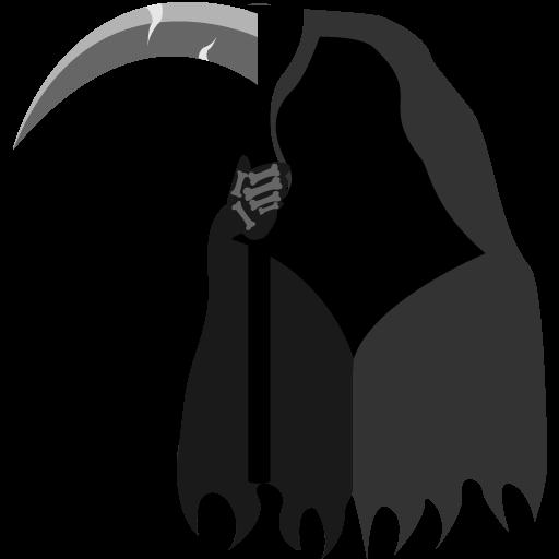 Free Scary Grim Reaper Clip Art