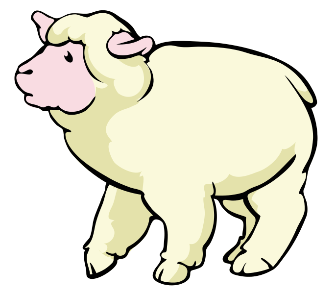 Free Sheep Clip Art