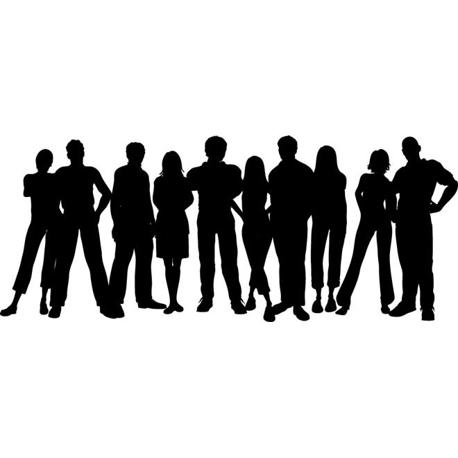 Free Silhouettes Group Of People Posted On Saturday December 29th