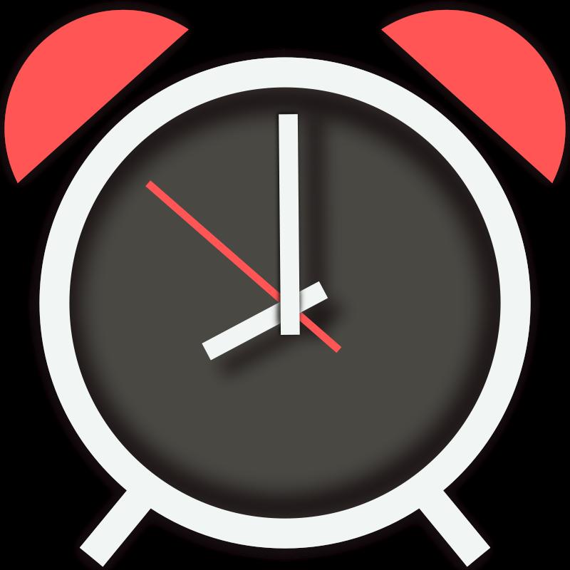 Free Simple Alarm Clock Clip Art
