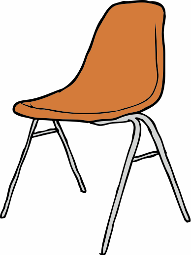 Free Simple Chair Clip Art