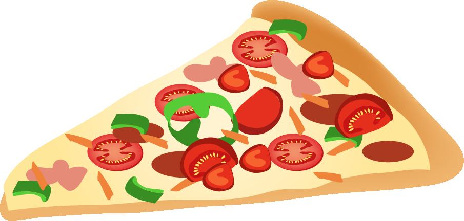 Free Slice of Pizza Clip Art
