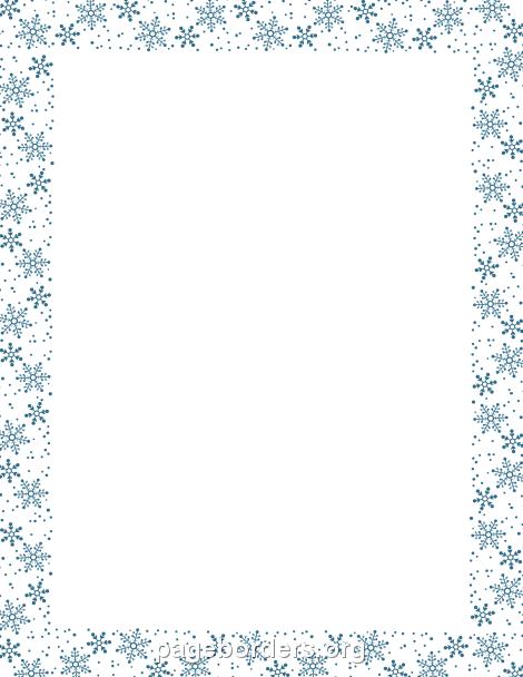 Free Snowflake Clipart. 2016/02/16 Google Borders · Bordes En Pinterest  Bordes De P Gina Picasa Y Lbum