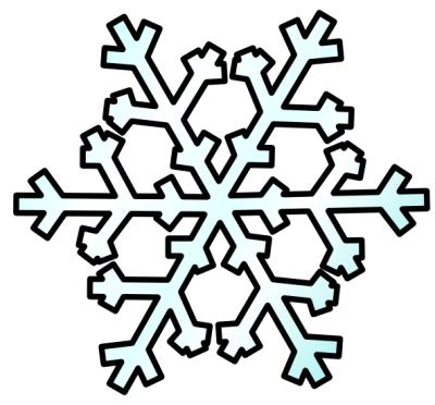 free snowflake clipart