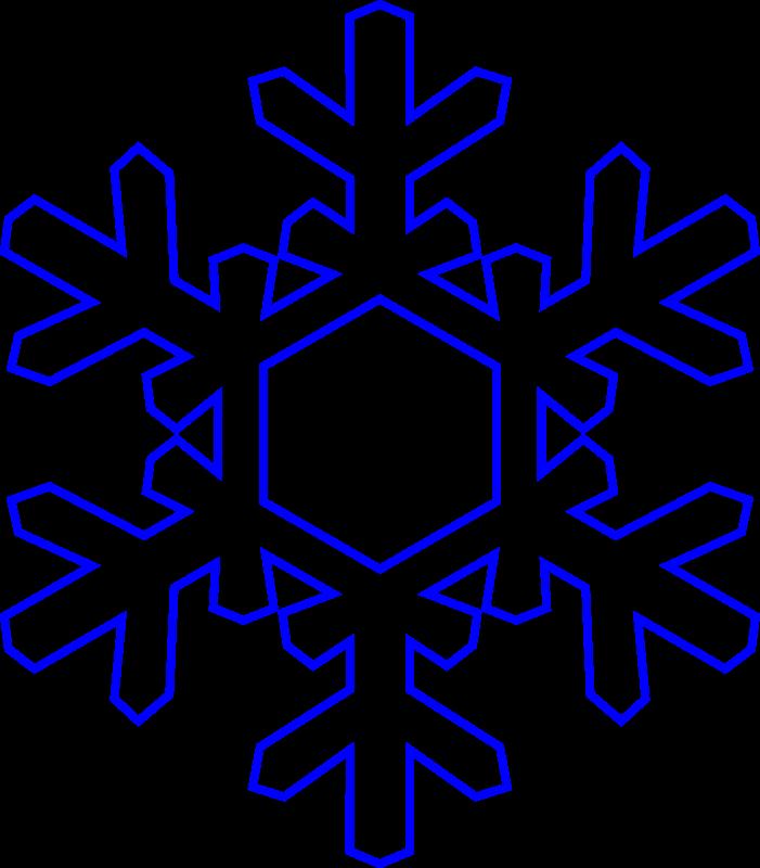 free snowflake clipart - Snowflake Clip Art