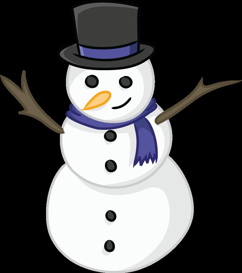 Free Snowman Clip Art - clipartall