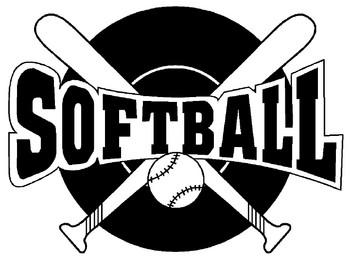 Free softball clip art clipart