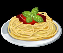 Free Spaghetti Plate Clip Art