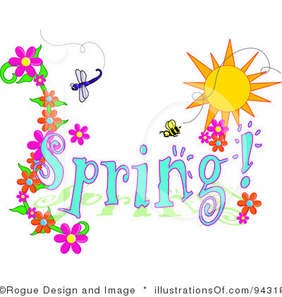 Free Spring Clipart Royalty Free Spring Time Clipart Illustration