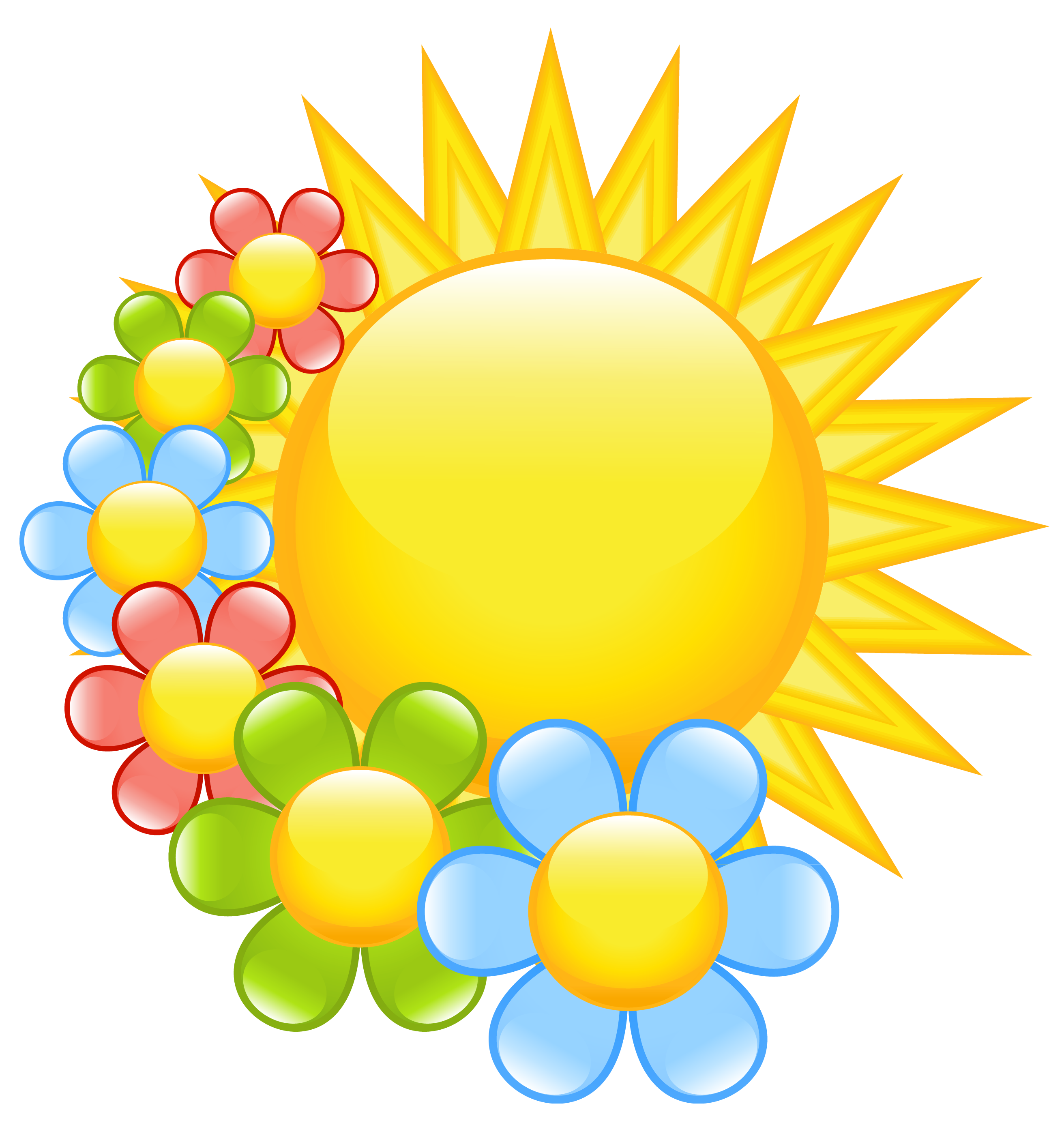 14 Spring Flowers Clipart Preview August Clipart U0 Hdclipartall