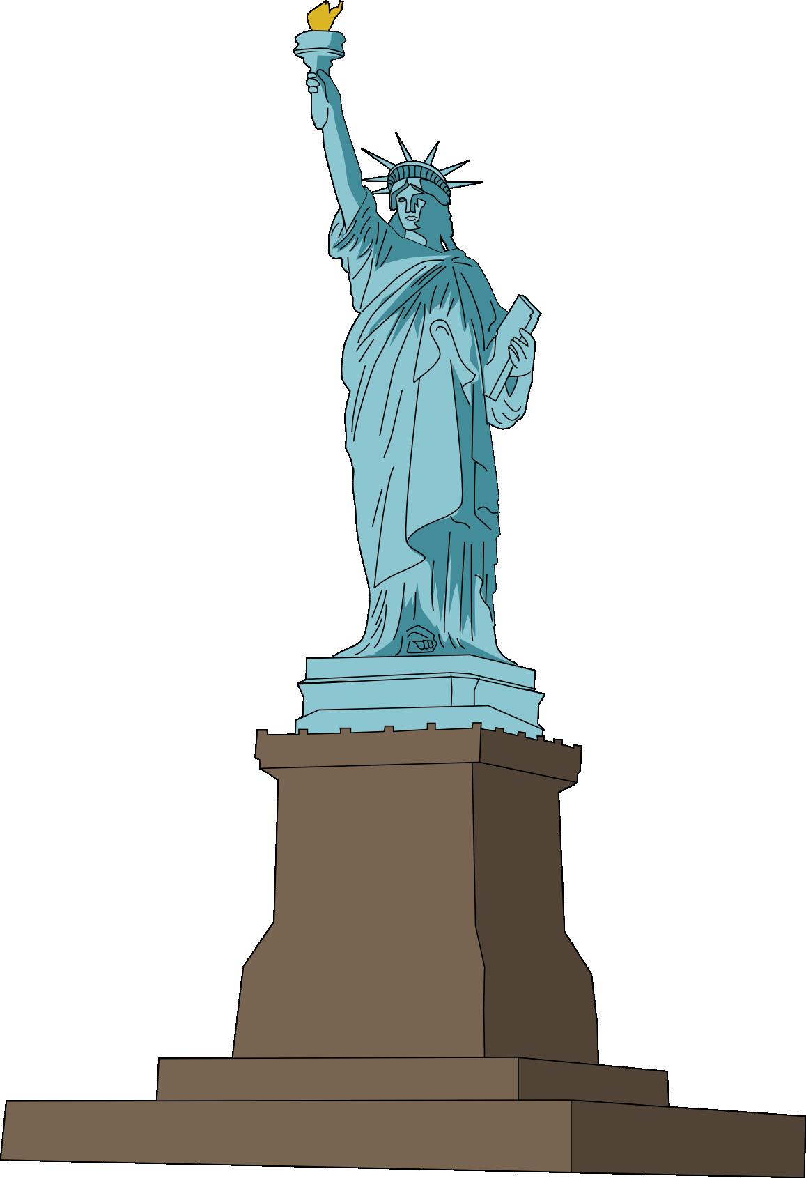 Free Statue of Liberty Clip Art