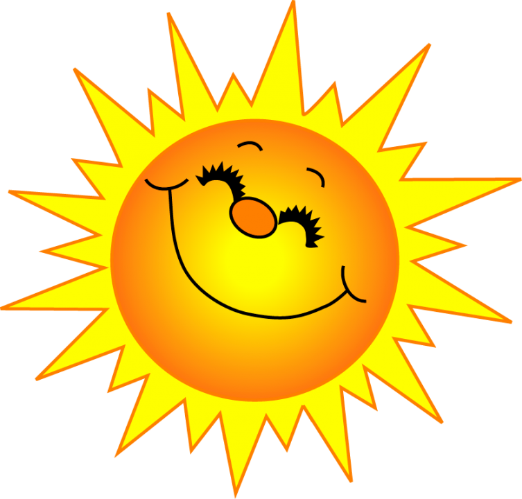 Free sunshine clipart pictures 4