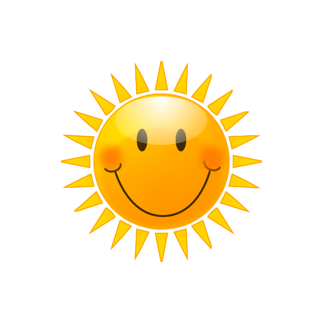 Free Sunshine Clipart Pictures