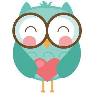Free SVG Cutters File   Valentine Owls SVG cut file for scrapbooking cardmaking valentines svg .