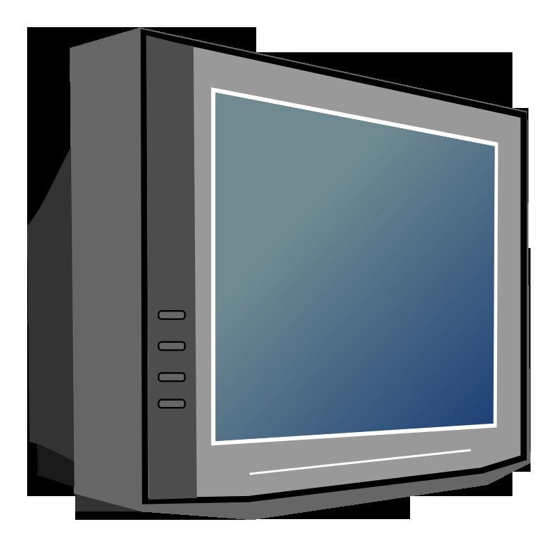 Free Television Set Clip Art