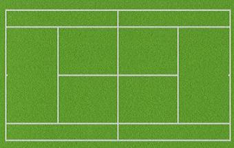 Free Tennis Court Clipart