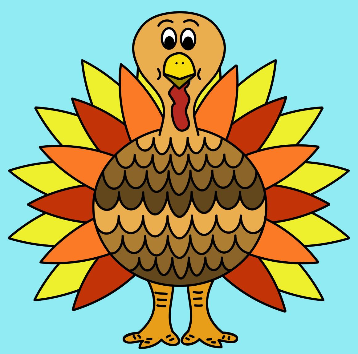 Free Thanksgiving Clip Art: Free Thanksgiving Turkey Clip Art