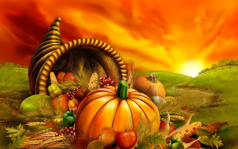Free Thanksgiving Dinner Clipart
