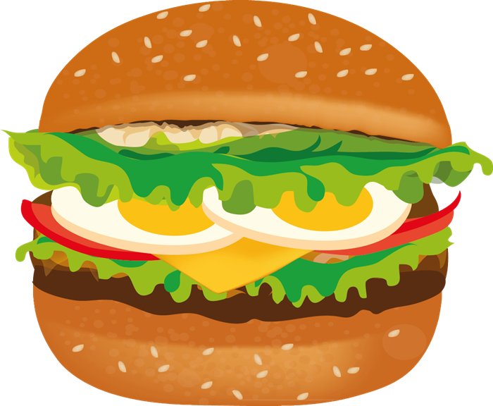 Free To Use Amp Public Domain - Hamburger Clipart