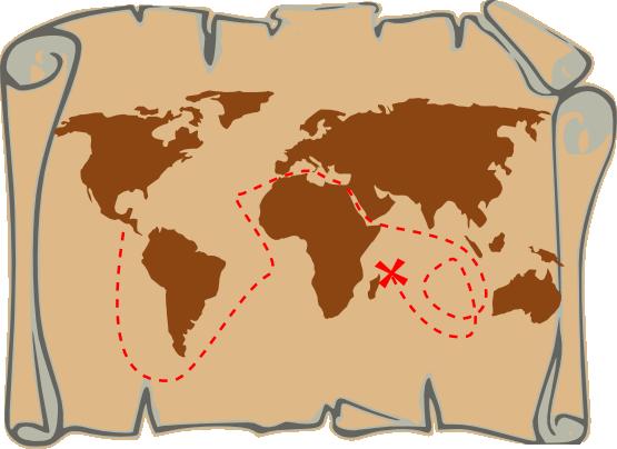 Free To Use Amp Public Domain Treasure Map Clip Art