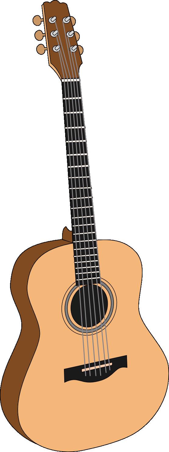 Free To Use Public Domain Acoustic Guitar Clip Art