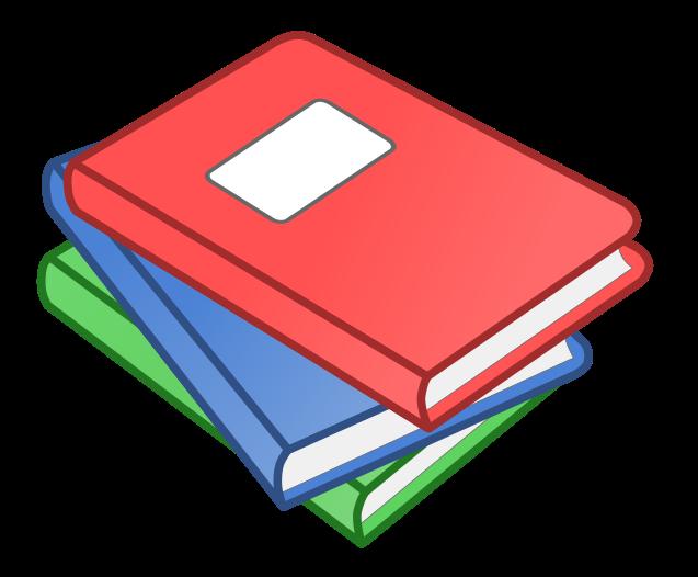 Free to Use Public Domain Book Clip Art
