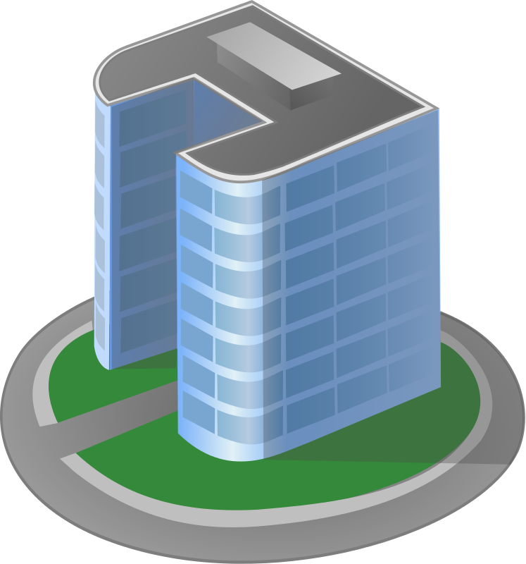 Free to Use Public Domain Buildings Clip Art