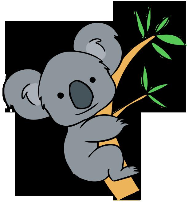 Free To Use Public Domain Koala Clip Art