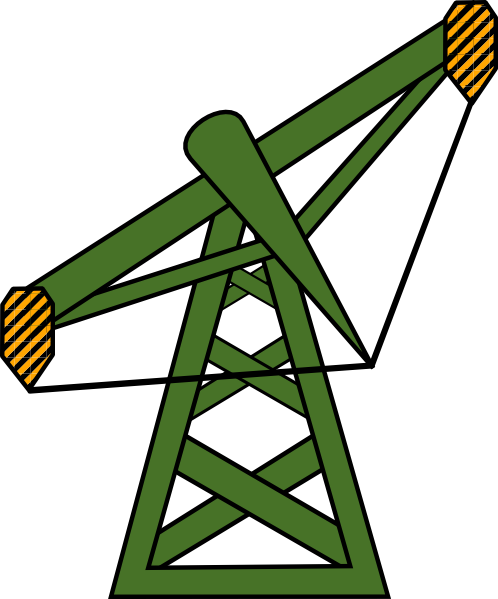 Free to Use Public Domain Oil Well Clip Art