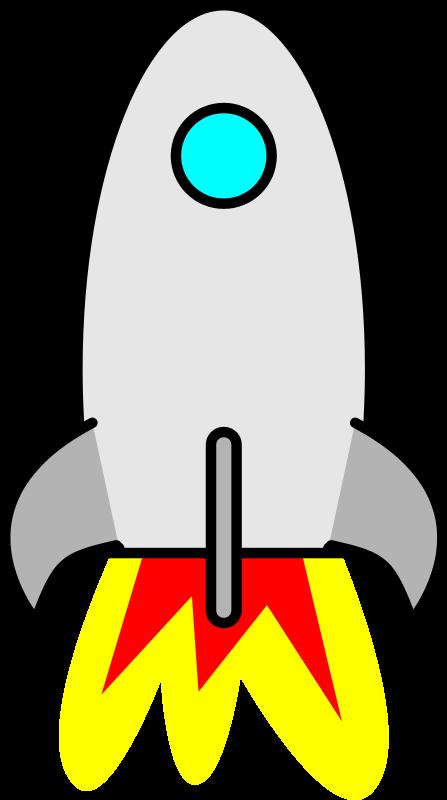 Free To Use Public Domain Rocketship Clip Art Page 2