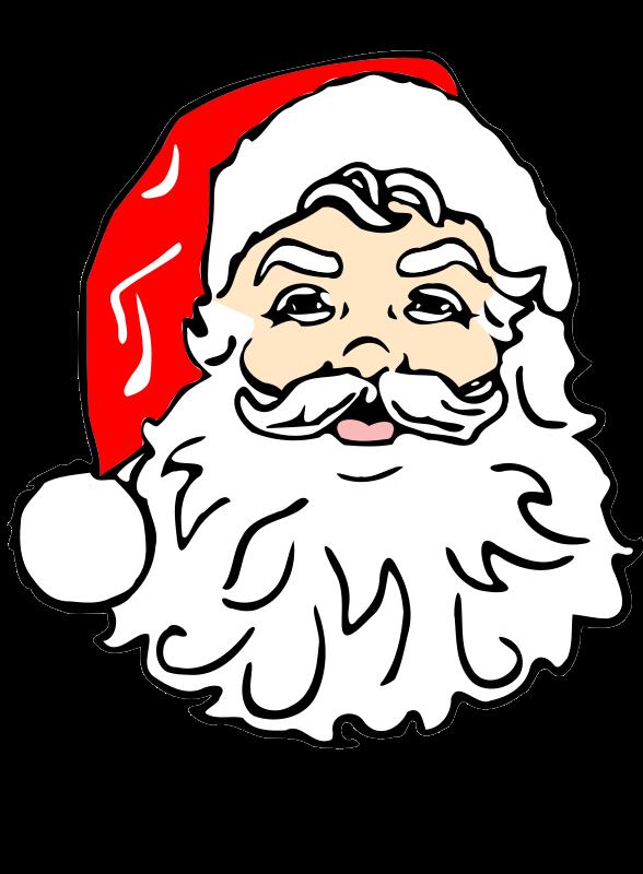 Free to Use Public Domain Santa Claus Clip Art - Page 4