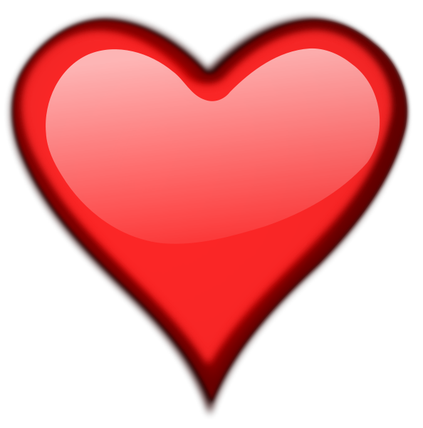 Free Valentine Hearts Clipart